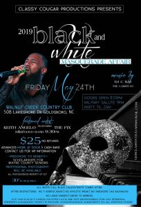 MDW 2019 Black/White Masquerade Affair @ Wolf Creek Country Club